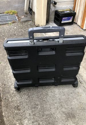 Rolling File crate for Sale in Edgewood, WA