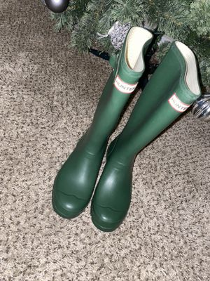 Hunter rain boots for Sale in Woodlawn, MD