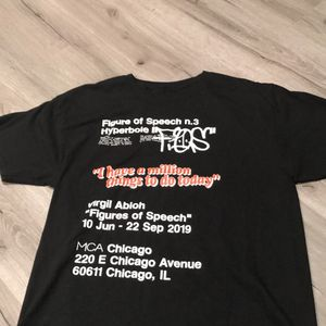 Virgil Abloh FOS Tee for Sale in Molalla, OR