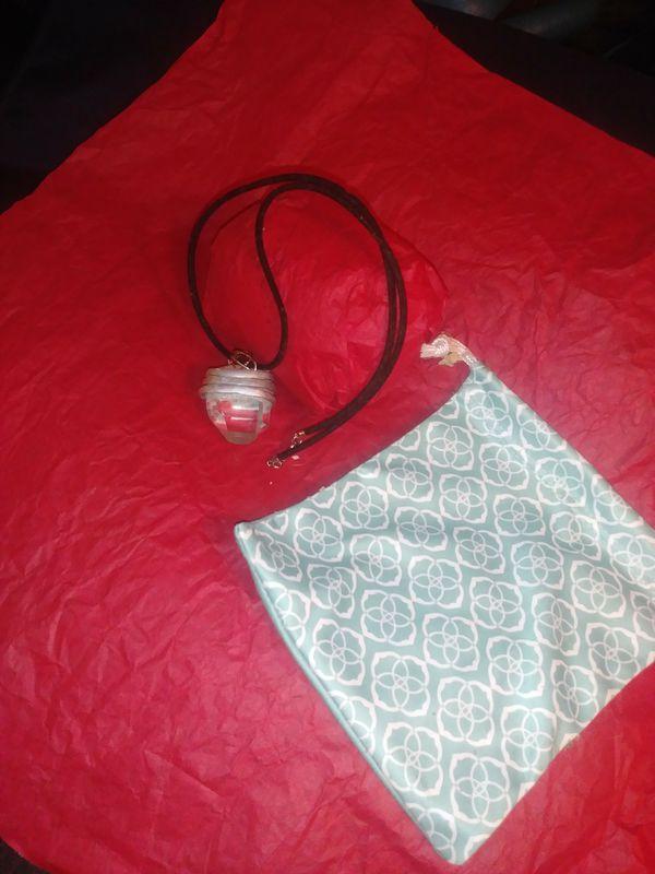 Custom Made Large Chrystal Necklace