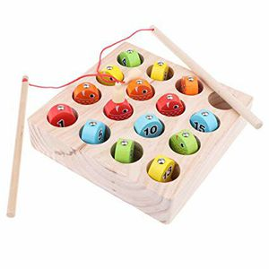 Brand New Kids Wooden Digital Magnetic Fishing for Sale in Hawthorne, CA
