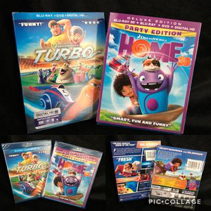 Home and Turbo animated movies for Sale in Los Angeles, CA