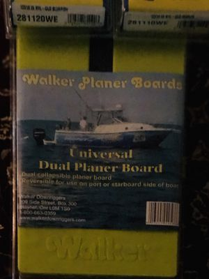 Fishing - Walker Dual Planer Board- New for Sale in Port St. Lucie, FL