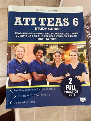 Teas study guide for Sale in San Antonio, TX