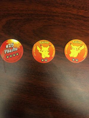 Pikachu Collectible Pokemon Pog Set for Sale in Philadelphia, PA