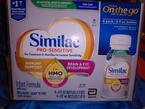Similac Pro Sensitive Lactose Infant Formula for Sale in Honolulu, HI