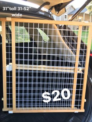 """POSITION N LOCK TALL N WIDE BABY SAFETY GATE PET GATE LIKE NEW 31"""" height and 31""""-50"""" width options for Sale in San Antonio, TX"""