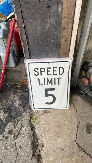 Speed limit sign for Sale in Milton, MA