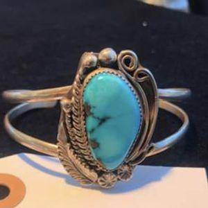 Native American Sleeping Beauty Turquoise Cuff Bracelets for Sale in Goodyear, AZ