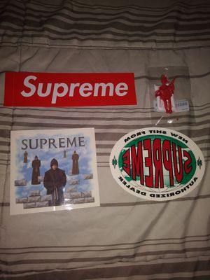 Supreme Stickers & Parachute Toy for Sale in Los Angeles, CA