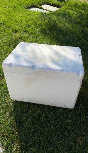 Heavy duty Styrofoam ice chest for Sale in San Jacinto, CA