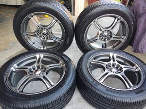 17x7 KONIG SUPER LIGHTWEIGHT 5 LUG UNIVERSAL. 5x108 it 5x115 for Sale in Torrance, CA