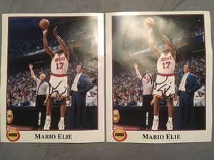 Mario Elie Signed Photo for Sale in Houston, TX