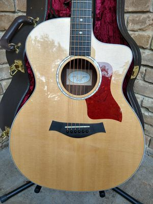 Taylor Acoustic Guitar & Case for Sale in Irving, TX