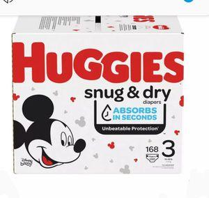 2 Boxes of Huggies Snug n Dry for Sale in Magna, UT