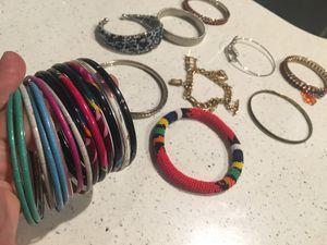 Lot of jewelry/bracelets for Sale in La Puente, CA