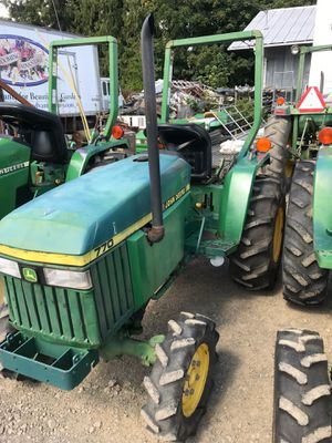1990 John Deere 770 Compact Tractor for Sale in Cornelius, OR