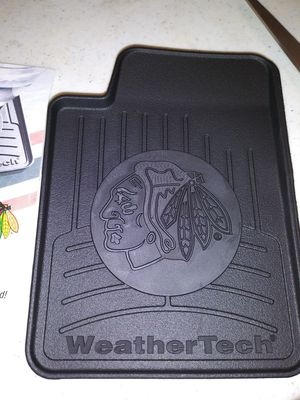 Blackhawks Weather tech Coasters for Sale in Franklin Park, IL
