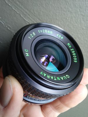 MINT Quantaray MC 1:2.8 28mm Wide-angle in MD mount for Sale in Chino Hills, CA