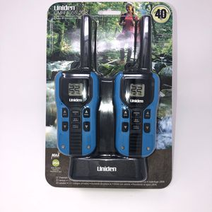 Uniden 22 Channel 40 mile GMRS/FRS Radio Pair for Sale in Seattle, WA