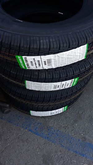 st205 75 r15 trailers tires 4nes $200 for Sale in Anaheim, CA