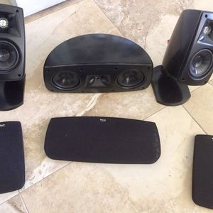 Klipsch Speakers & Bose Subwoofer! for Sale in Miami, FL