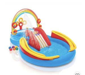 Intex Rainbow Play center swimming pool for Sale in Folsom, CA