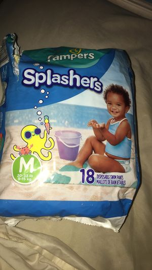 Pampers splashers for Sale in Garland, TX
