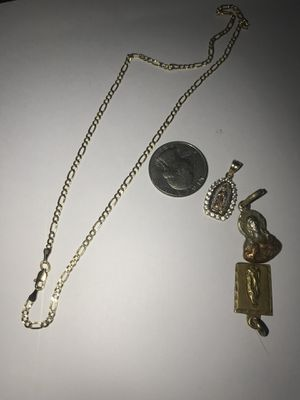 10KT 16 Inch Chain | Pendants for Sale in Portland, OR