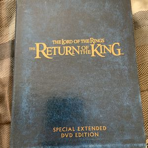 The Lord of the Rings Return of the King extended DVD edition for Sale in Addison, IL
