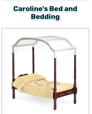 AMERICAN GIRL DOLL BED and BEDDING for Sale in Miami, FL