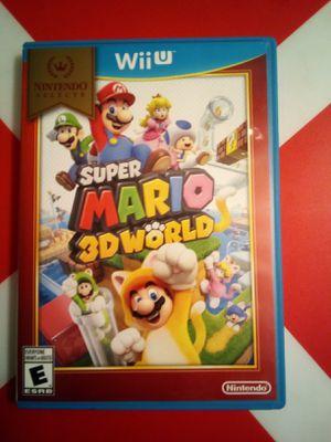 Super Mario 3D World - Nintendo Wii U for Sale in Los Angeles, CA