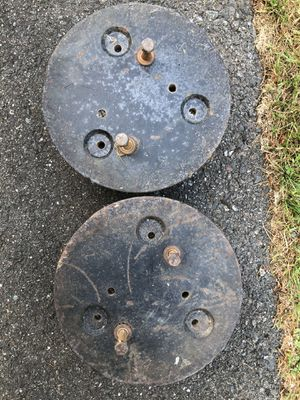 Riding lawn mower wheel weights. for Sale in Snohomish, WA