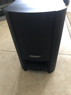 Bose Cinemate GS series 2 Digital home theater system Sub woofer for Sale in OCEAN BRZ PK, FL