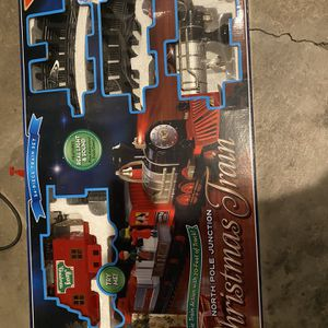 Free Christmas Train Track Set for Sale in Glendora, CA