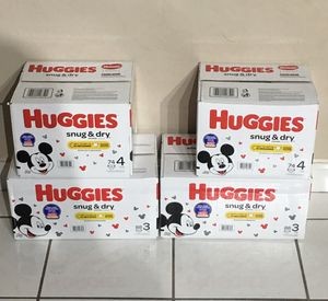 Huggies diapers for Sale in Miami, FL