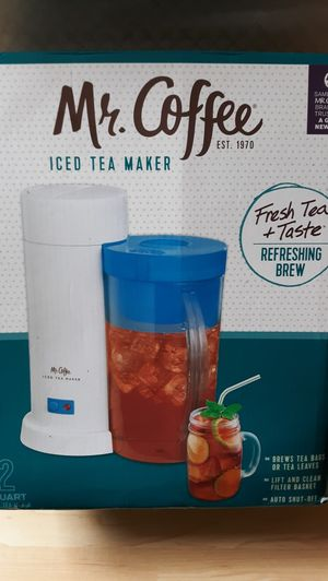 Mr. Coffee Iced Tea Maker for Sale in San Antonio, TX