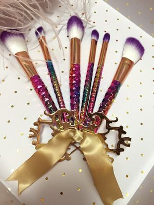 Unicorn Makeup Brushes- Set of 6 for Sale in Houston, TX