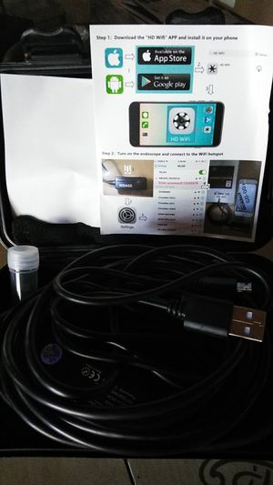 Wifi endoscope camera for Sale in Evansville, IN