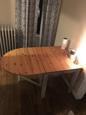 IKEA Drop-Leaf Wood Kitchen Table for Sale in New York, NY