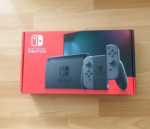 Nintendo Switch Console grey for Sale in San Jose, CA