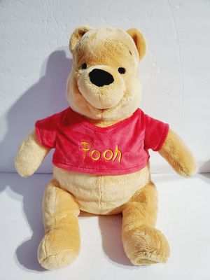 Disney Store Authentic Winnie The Pooh Plush Teddy Bear 17'' Collectible Stuffed for Sale in Queens, NY