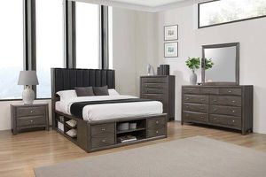 Queen Platform Storage Bed ONLY $499- SALE! for Sale in Sacramento, CA