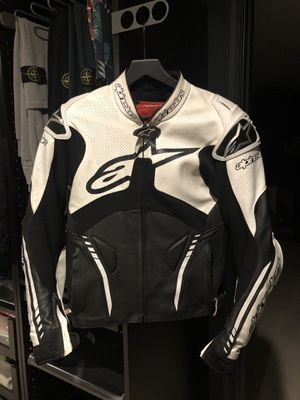 ALPINESTARS ATEM Leather Racing Motorcycle Jacket Size US38 for Sale in Falls Church, VA