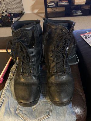 """Men's size 7.5 """"Interceptor"""" work boots for Sale in Rockwall, TX"""