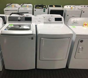 LG Top Load Washer/Dryer Set CH for Sale in Dallas, TX