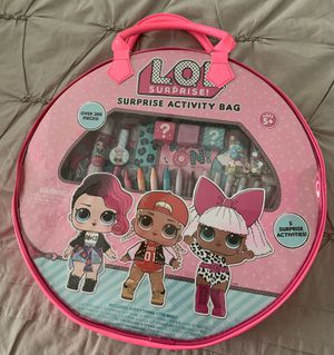 NWT LOL surprise doll activity bag-arts n crafts for Sale in Plano, TX