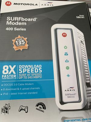Motorola Arris Modem. for Sale in Lake Angelus, MI