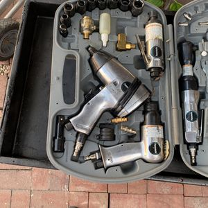 Piece Air Compressor Tool Kit W/ Storage Case for Sale in Rowland Heights, CA
