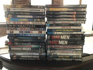 35 Movies and 2 seasons of Mad Men for Sale in St. Louis, MO